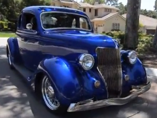 Video: 1936 Ford 5-Window Super Rod From Central Coast California