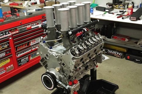 Hilborn-injected LS From Mast Motorsports Gets Happy on Nitrous