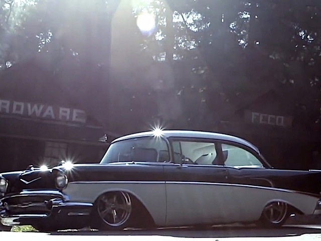 Video: Taking Pride In A '57 Chevy Is Easy When It Looks This Good