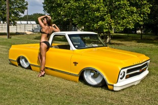 David Neal's 1968 Chevy C-10