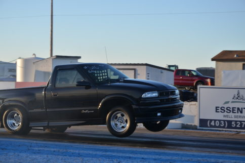 Car Feature Video: Hatfield's S10 Returns With Another Burnout