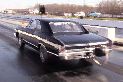 Video: Nasty Boosted LSX-Powered Ultra Street Chevelle Runs 5's