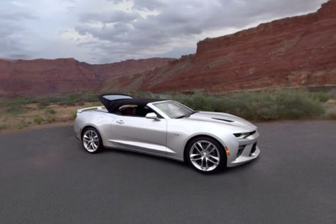 Chevrolet Shows Off The 2016 Non-Stop, Drop Top Camaro
