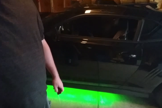 Camaro SS Buyer Finds A Brightly-Lit Surprise With Purchase