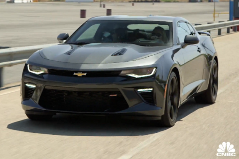 Jay Leno's Garage Makes Television Premiere With 2016 Camaro