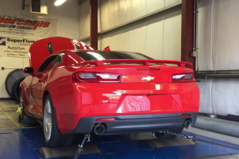 Video: Stock 2016 Camaro SS Eclipses Corvette's Dyno Numbers