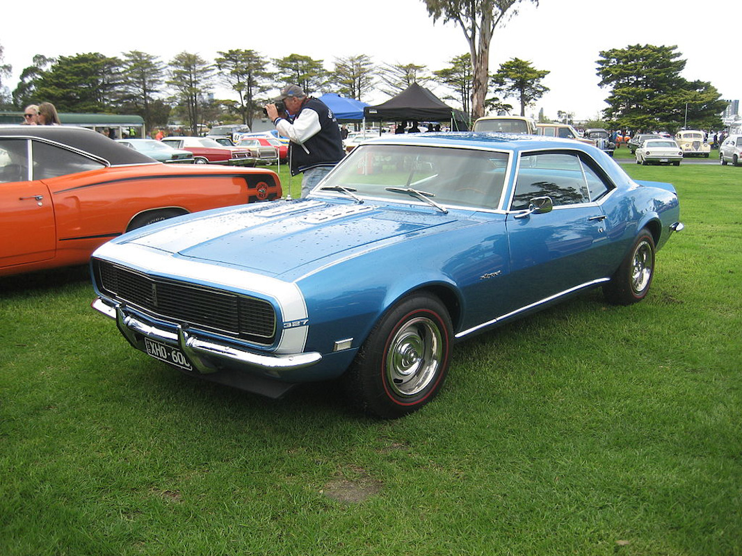 1968 Camaro By The Number