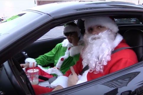 Video: Santa Kleib Spreads Cheer with His C6Z06