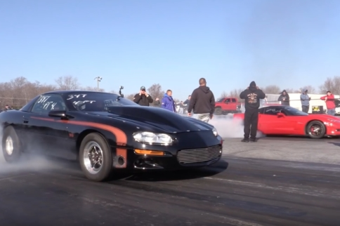 Video: ProCharged C6 Corvette Takes On Turbo 4th Gen Camaro