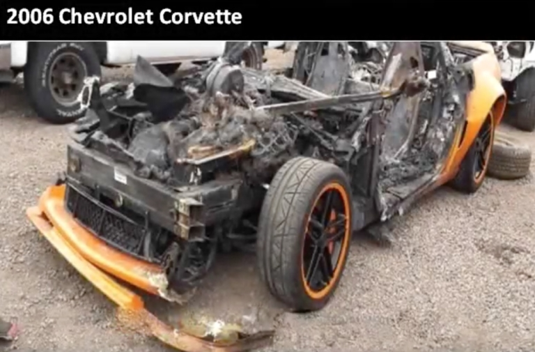 """Wrecked Vette Wednesday: """"Call to Schedule Your Test Drive Today!"""""""