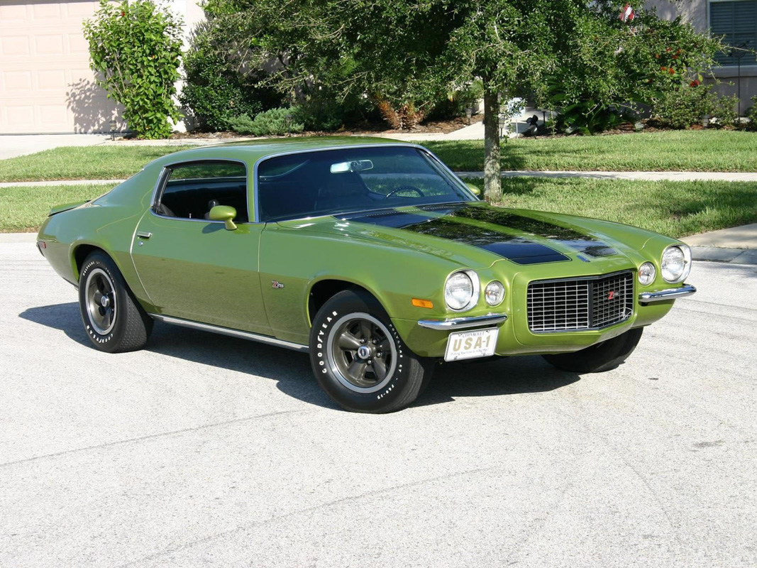 1973 Camaro By The Numbers