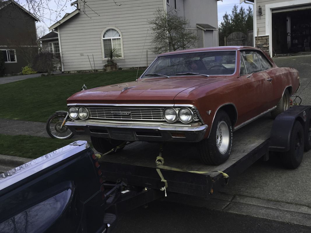 Caught On Craigslist: Barn Find 1966 Chevy Malibu