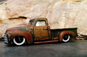 Video: Staying Slammed With This 1950 Chevy 3100 Pickup