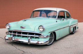 A Vibrant 1954 Bel Air That Is The Best Of Both Worlds