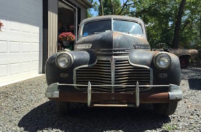 Barn Find: A 1941 Chevy Business Coupe On Its Last Legs