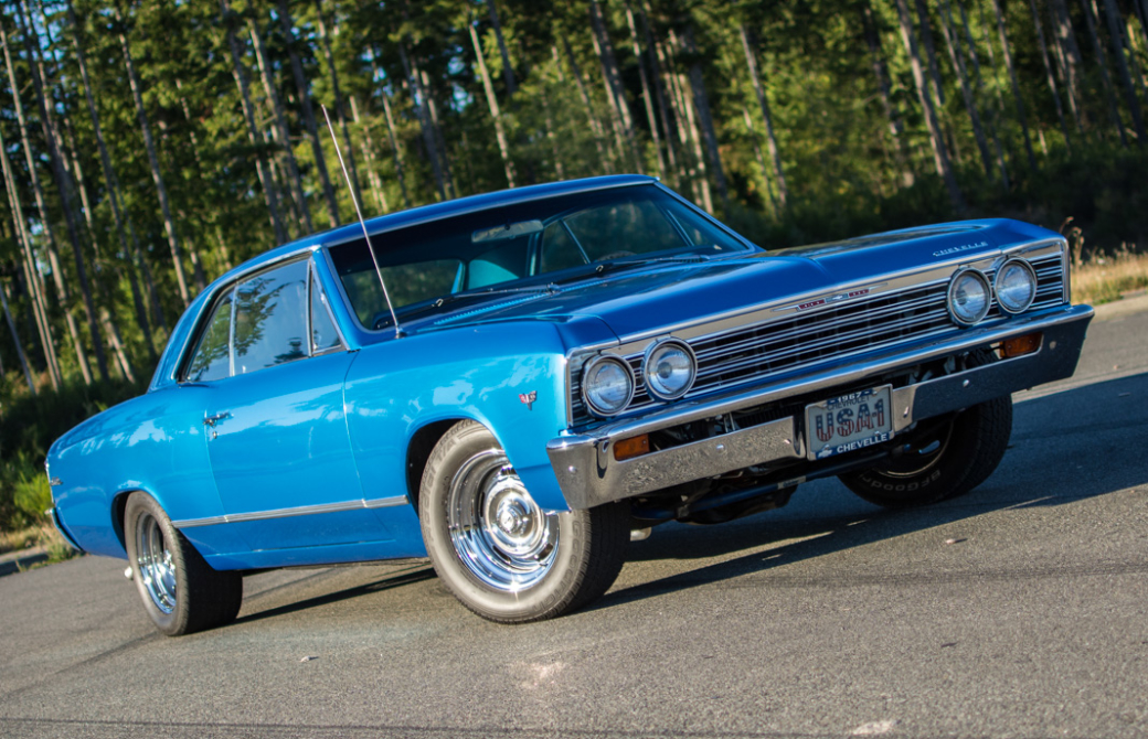 Mike Millican's 1967 Chevy Malibu Wears Its Older Restoration Well