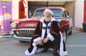 It's That Time Of Year: Santa Reveals his Southern California Sleigh