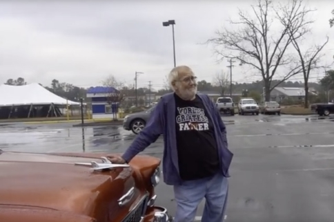 Video: Angry Grandpa's New '55 Chevy Christmas Present