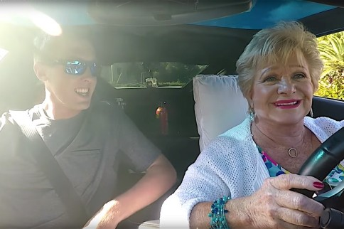 Video: Grandma Does A Burnout & Hits 120mph In 900hp Corvette