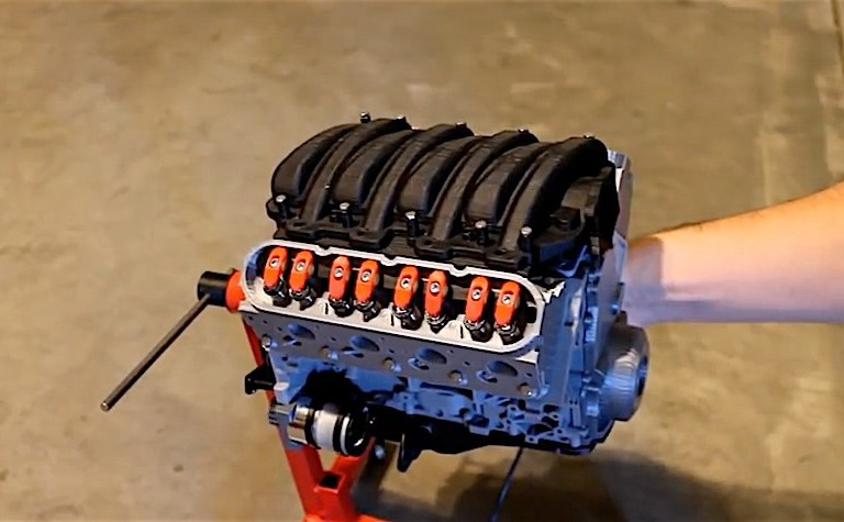 Video: This 3D-Printed LS3 Looks Like It Could Actually Run