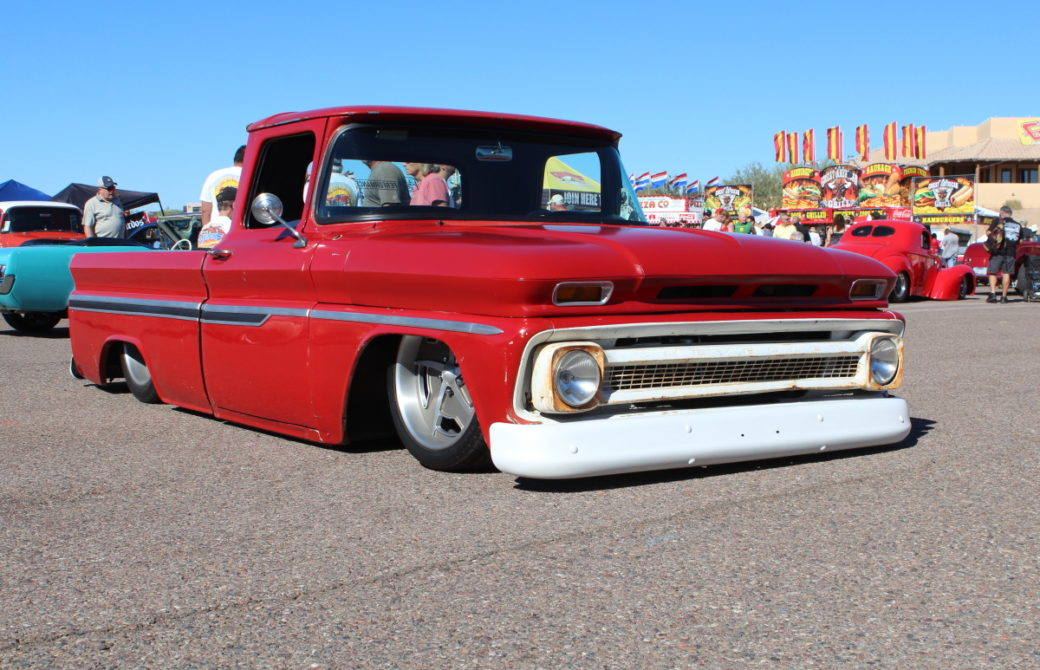 Calling Card - Perfect Patina & Stance Make this 1963 C10 Stand Out