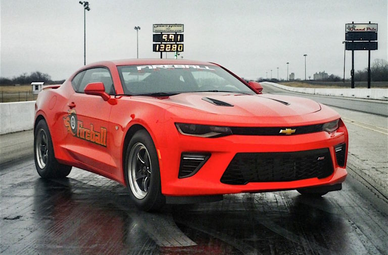 Video: Fireball Camaro Goes 8s Becomes Fastest LT-Powered Car Ever
