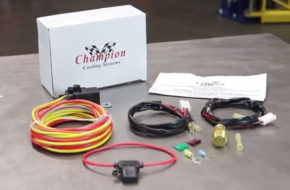 Installing An Electric Radiator Fan Relay With Champion Cooling