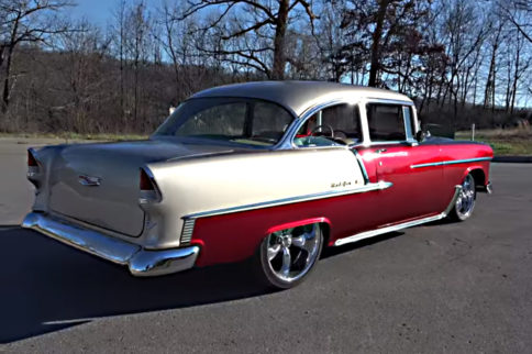 Video: A 1955 Bel Air Rebuilt After A Half Century Of Ownership
