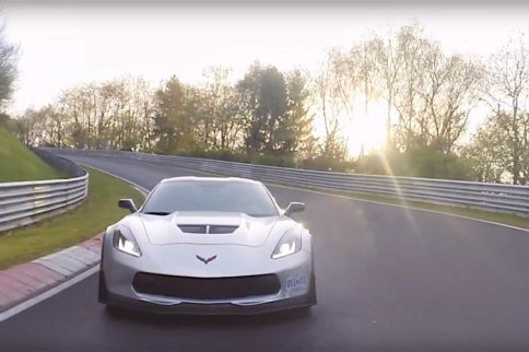 Manual Gearbox Corvette Z06 Laps the Nurburgring in 7:13.9