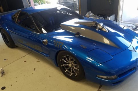Video: Lsxperts' C5 Corvette Crushes World Half-Mile Record