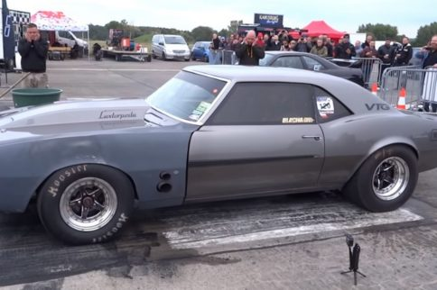 Video: All-Wheel-Drive 1968 Camaro Runs Sevens - Pure Awesomeness!
