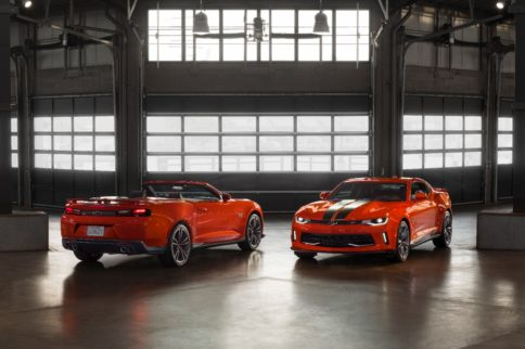 Chevrolet Unveils 50th Anniversary Hot Wheels Edition Camaro