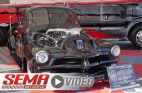 SEMA 2017: Quad-Turbo, Duramax Powered, Salt Flats '54 Chevy Truck