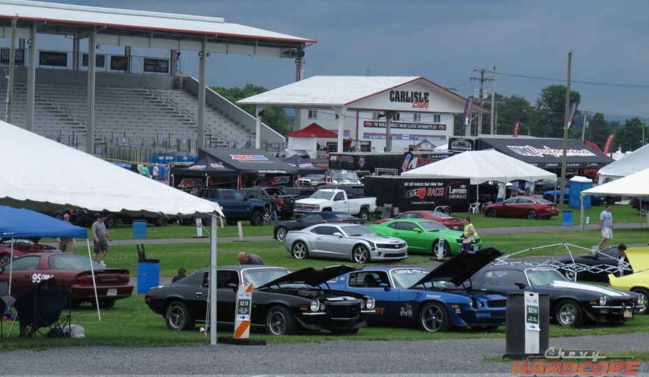 Chevrolet Nationals: Day One Was Threatened By Rain That Never Came